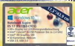 Notebook Aspire ES 17 ES1732-C970 von Acer