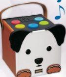 X4-Tech Bobby Joey Dogbox Bluetooth-Lautsprecher von Ideen Welt