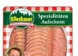 Aufschnitt-Spezialitäten von Wiesbauer