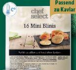 Mini-Blinis von Chef Select