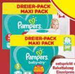 Dreierpack von Pampers