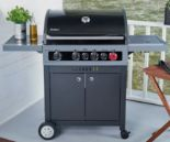 Gasgrill Boston Black 4IK Turbo von Enders