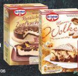 Kuchenbackmischung von Dr. Oetker