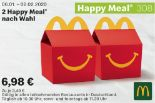 2 Happy Meal nach Wahl 308 von McDonald's