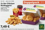 2x 6er Chicken McNuggets 312 von McDonald's