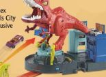 City T-Rex Attacke von Hot Wheels