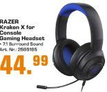 Console Gaming Headset Kraken X von Razer