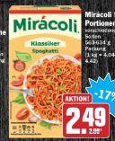 5 Portionen von Mirácoli