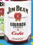 White & Cola von Jim Beam