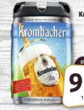 Frische-Fässchen von Krombacher