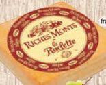 Raclette-Käse von Riches Monts