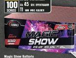 Magic Show Batterie von Comet Feuerwerk