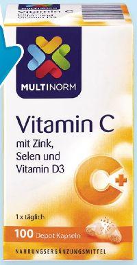Vitamin C Depot Kapseln von Multinorm