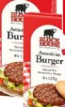 American Burger von Block House
