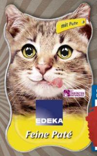 Katzennahrung von Edeka