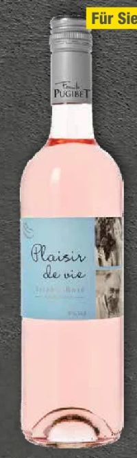 Syrah-Rosé von Plaisir de Vie