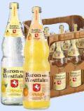 Orangensaft von Baron von Westfalen