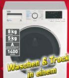 Wasch-Trockner WDW 85141 Steam von Beko