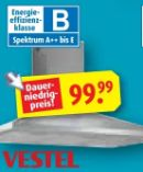 Dunsthaube VHK90BX von Vestel