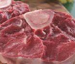 Rinder-Beinscheibe von Bauern Gut