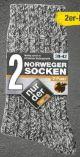Herren-Norweger Socken 2er-Pack von nur der