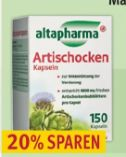 Artischocken-Kapseln von Altapharma