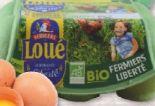 Bio Eier von Fermiers de Loué