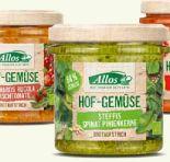 Bio-Brotaufstrich Hof Gemüse von Allos