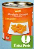 Mandarin-Orangen von korrekt