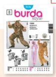 Schnitt Tier-Overall von Burda Style