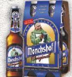 Bierspezialitäten von Mönchshof