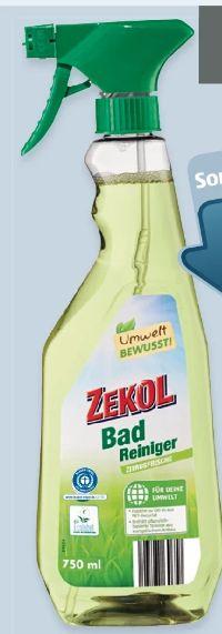 Ecolabel Bad-reiniger von Zekol