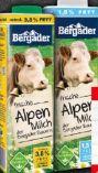 Frische Alpenmilch von Bergader
