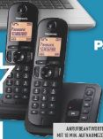 Duo Dect-Telefon KX-TGC222GB von Panasonic