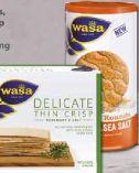 Delicate Crackers von Wasa