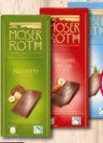 Chocoladen Spezialität von Moser Roth