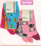 Damen Animal Design Socken von Basic Socken