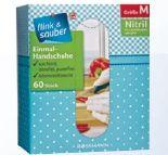Einmal-Handschuhe Nitril von Flink & Sauber