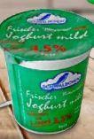 Frischer Joghurt von Schwälbchen