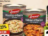 Pfannengerichte von Erasco