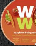 Fertiggericht Spaghetti Bolognese von Weight Watchers