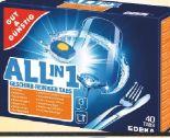 All-in-1 Tabs Power Aktiv Geschirr-Reiniger-Tabs von Gut & Günstig