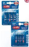 Batterien Mignon AA von Rubin