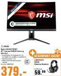 Gaming Monitor Optix MAG271CQP Curved WQHD von MSI