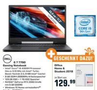 Gaming Notebook G7 7790 von Dell