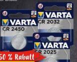 Spezialzellen CR2032 von Varta