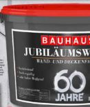 Jubiläumsweiss von Bauhaus