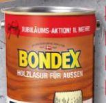 Holzslasur von Bondex