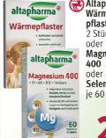 Wärmepflaster von Altapharma