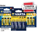 Longlife Extra Batterien von Varta